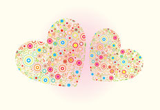 valentine's day vector illustration Royalty Free Stock Photos
