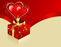 Valentine's Day Vector Illustration Stock Images