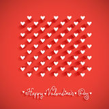 Valentine's day vector vintage Royalty Free Stock Photos