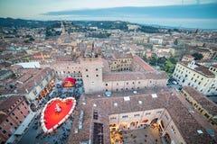 Valentine's Day in Verona, Italy Stock Image