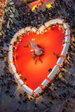 Valentine's Day in Verona, Italy Royalty Free Stock Photo
