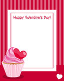 Valentine s Day Vertical Frame Stock Images