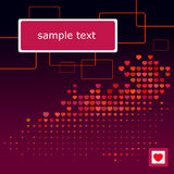 Valentine's day wallpaper Royalty Free Stock Images