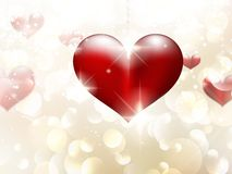 Valentine's day or Wedding background. EPS 10. Vector file included Royalty Free Stock Images
