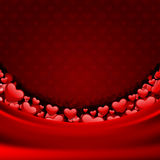 Valentine's day or Wedding card background. Valentine's day or Wedding card vector background Stock Images