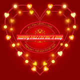 Valentine's Day Wishes Stock Images