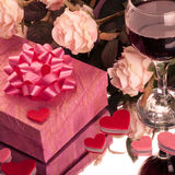 Valentine's dinner Royalty Free Stock Images
