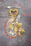 Valentine's dinner concept Royalty Free Stock Image