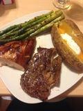 Valentine's Dinner Stock Photo