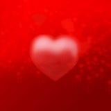 valentine´s do coração Imagem de Stock