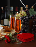 Valentine S Evening Royalty Free Stock Image