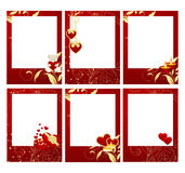 Valentine's frames Stock Photo