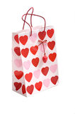 Valentine's Gift Bag Royalty Free Stock Photos