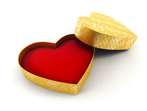 Valentine's gift box Royalty Free Stock Image