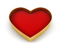 Valentine's gift box Stock Image