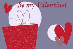 Valentine's gift box Stock Photo