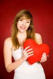 Valentine's Girl Stock Image