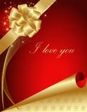 Valentine's greeting card Stock Photo