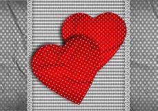 Valentine's greeting card Royalty Free Stock Photo