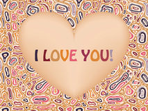 Valentine's Greeting Card Stock Images