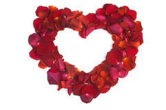 Valentine's greetings card Royalty Free Stock Photos