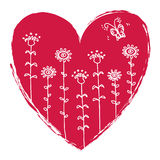 Valentine's Heart illustration Stock Photo