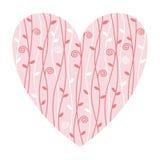Valentine's Heart illustration Stock Photos