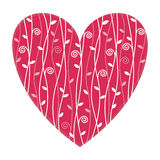 Valentine's Heart illustration Royalty Free Stock Images