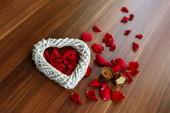 Valentine's Heart Royalty Free Stock Images