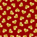 Valentine's heart seamless pattern Royalty Free Stock Photography