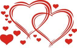 Valentine's hearts Royalty Free Stock Photography