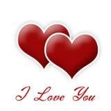 Valentine's hearts Royalty Free Stock Photos