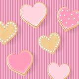 Valentine`s hearts Royalty Free Stock Photos