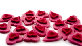Valentine's hearts Stock Image