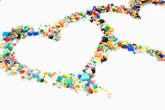 Valentine's hearts Royalty Free Stock Images