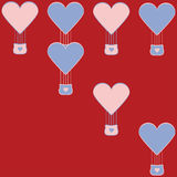 Valentine's illustration Stock Images