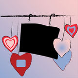 Valentine's illustration Royalty Free Stock Photo