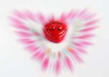 Valentine's kid abstraction. With blur effect Royalty Free Stock Photo