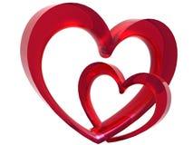 Valentine's Link Stock Image