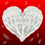 Valentine's love background Stock Photography