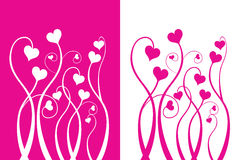 Valentine's love flower. Vector Valentine's love flower (please visit my portfolio for more Royalty Free Stock Photos