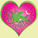 Valentine`s love symbol. It is valentines background.Everybody it is a celebration of valentine day stock illustration