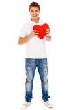Valentine's Man Royalty Free Stock Photography