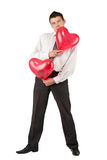 Valentine's Man Royalty Free Stock Photo