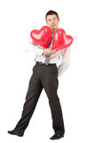Valentine's Man Stock Photos