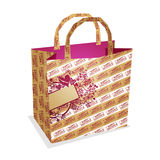 Valentine's paper bag Royalty Free Stock Image