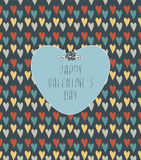 Valentine`s Pattern Stock Images