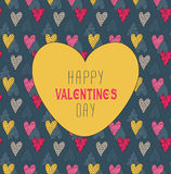 Valentine`s Pattern Royalty Free Stock Images