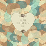 Valentine`s Pattern Stock Photos