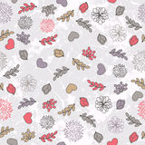 Valentine`s Pattern Royalty Free Stock Image